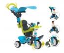 Tříkolka Baby Driver Confort modrozelená, stříška