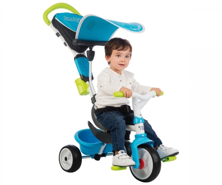 smoby BABY DRIVER CONFORT BLEU