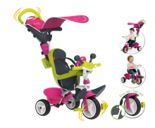 smoby BABY DRIVER CONFORT ROSA