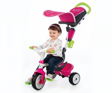 smoby ROWEREK BABY DRIVER KOMFORT RÓŻOWY