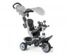 smoby TRICYCLE BABY DRIVER CONFORT GRIS