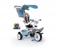 smoby Triciclo Baby Balade Plus Blu