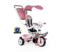 smoby TRICYCLE BABY BALADE PLUS ROSE