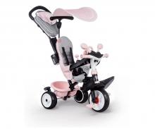smoby Smoby Dreirad Baby Driver Plus Rosa