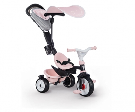 smoby TRICYCLE BABY DRIVER PLUS PINK