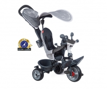 smoby TRICYCLE BABY DRIVER PLUS GREY