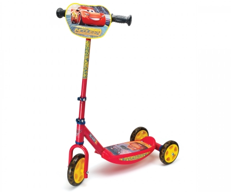 smoby CARS 3 3 WHEELS SCOOTER