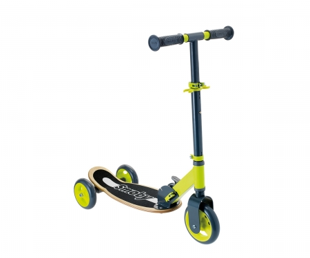 smoby WOODEN 3W FOLDABLE SCOOTER