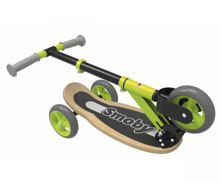 WOODEN 3W FOLDABLE SCOOTER