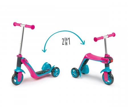 smoby 2 IN 1 SWITCH SCOOTER
