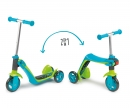 smoby PATINETTE SWITCH 2 EN 1 BLEUE