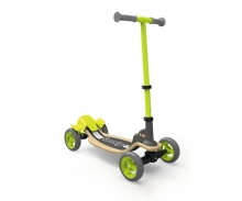 Wooden Fun-Scooter, 4 Räder