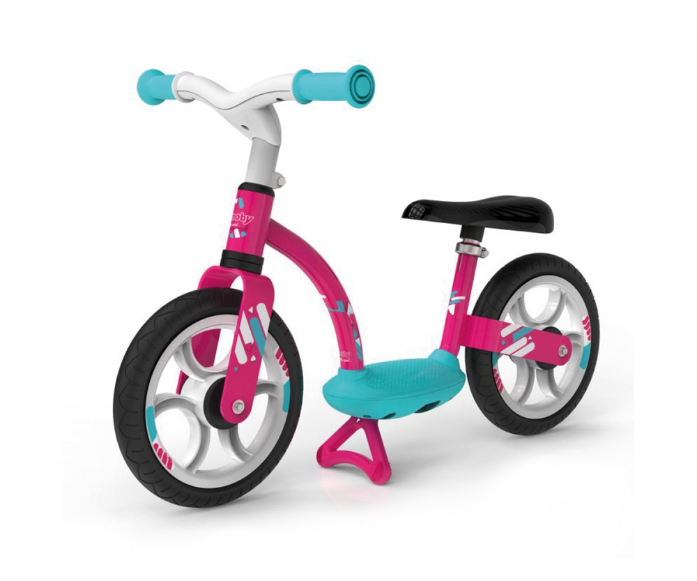 Balance Bike Comfort Pink Wheels Toys Products Www Smoby Com