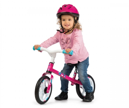 smoby Smoby Laufrad First Bike Rosa