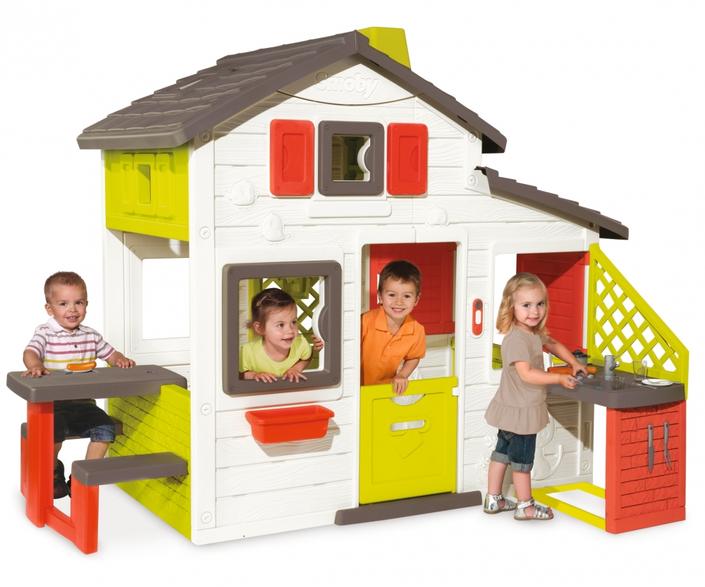 Smoby Kids Friends House Playhouse and Kitchen