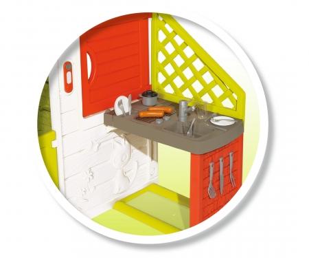 smoby Smoby Spielhaus Neo Friend Haus mit Spielküche