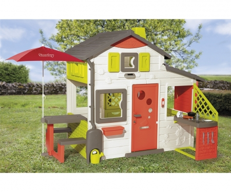 smoby NEO FRIENDS HOUSE PLAYHOUSE + KITCHEN