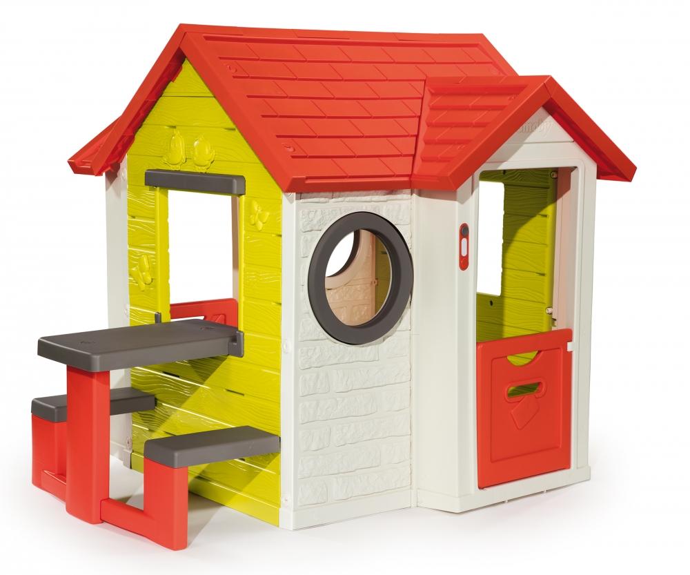 Mein Haus mit Picknicktisch Spielhäuser Outdoor