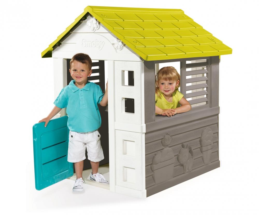 Jolie Haus Spielhauser Outdoor Marken Produkte Www Smoby Com