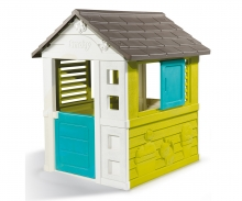 Domeček Pretty modrozelený