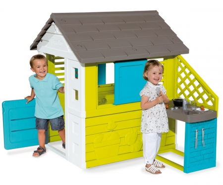 smoby PRETTY PLAYHOUSE + KITCHEN