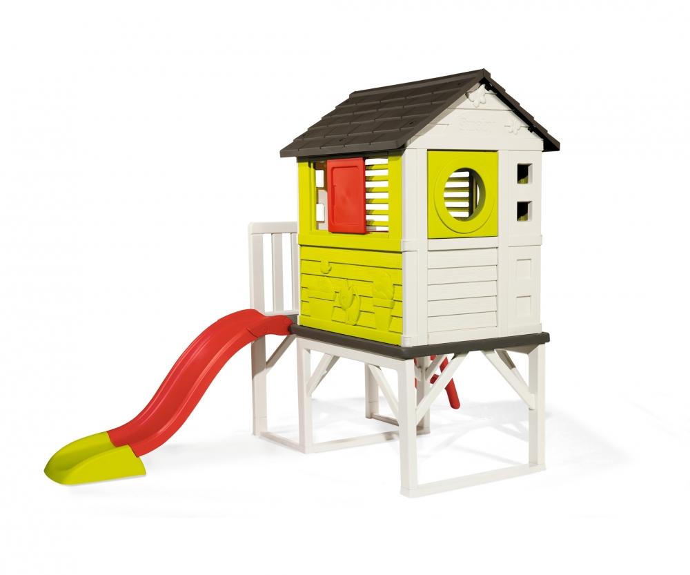 Smoby Kids Playhouse on Stilts with Slide