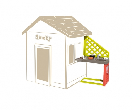 smoby Letní kuchyňka k domečku