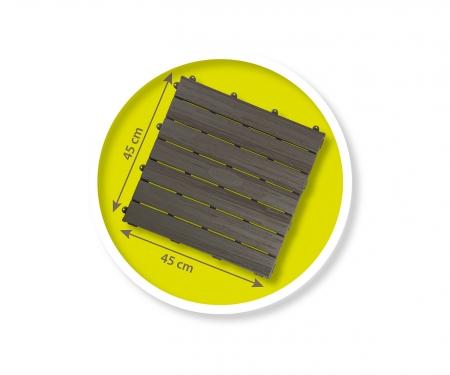 smoby SET DE 6 DALLES 45 x 45 CM