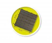 smoby Smoby Bodenplatten-Set mit Klicksystem, 6 Stück