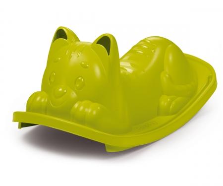 Katzen-Wippe, grün