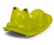 Houpačka Kočička zelená