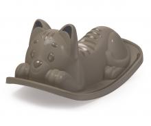 Houpačka Kočička šedá