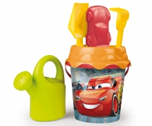 smoby Disney Cars 3 Set Secchiello mare cm.16 - 7 pz