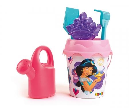 smoby Kyblíček Disney Princess s konvičkou a přísl., střední