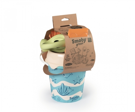 smoby SMOBY GREEN GARNISHED BUCKET