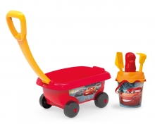 Cars Handwagen mit Eimergarnitur