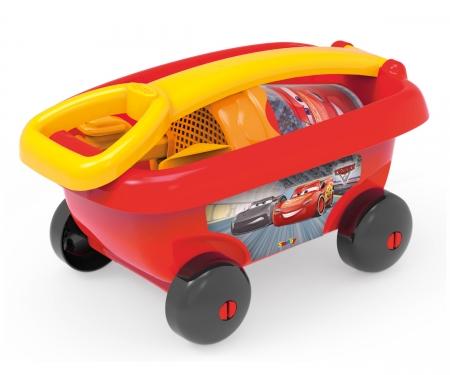 smoby Wózek z akcesoriami do piasku CARS