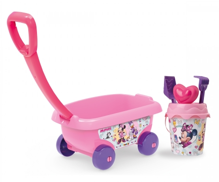 MINNIE GARNISHED BEACH CART