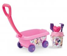 smoby Minnie Handwagen mit Eimergarnitur