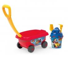 smoby Micky Handwagen mit Eimergarnitur