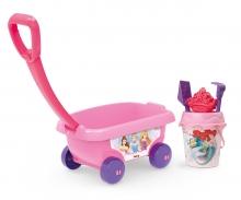 Disney Princess Handwagen mit Eimergarnitur