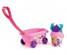 smoby Disney Princess Vozík s kyblíčkem a přísl.