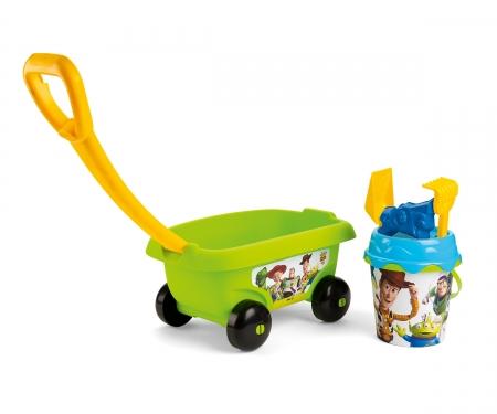 smoby Smoby Toy Story Handwagen mit Eimergarnitur