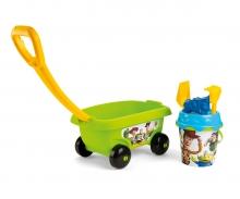 smoby Toy Story Vozík s kyblíčkem a přísl.