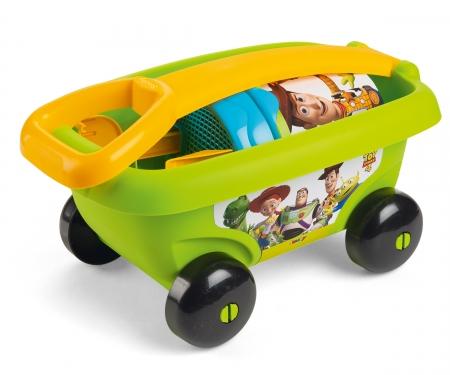 smoby wózek z akcesoriami do piasku Toy Story