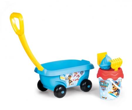 smoby Smoby Paw Patrol Handwagen mit Eimergarnitur