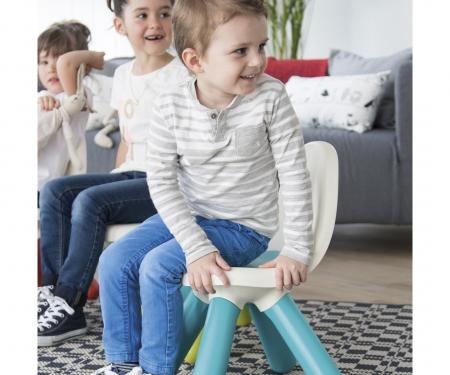 Dětská židlička červená