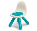 krzesełko z oparciem niebieskie