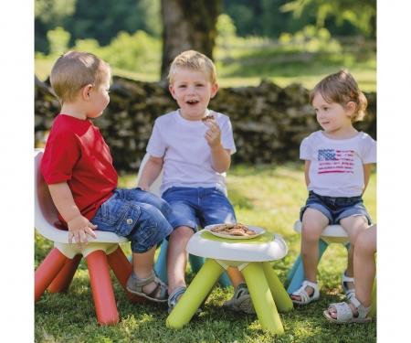 smoby Dětská stolička červená