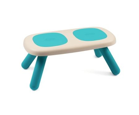 smoby ławka niebieska